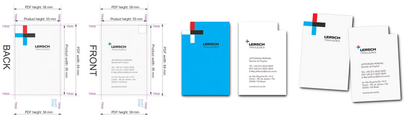 Lersch Business Cards